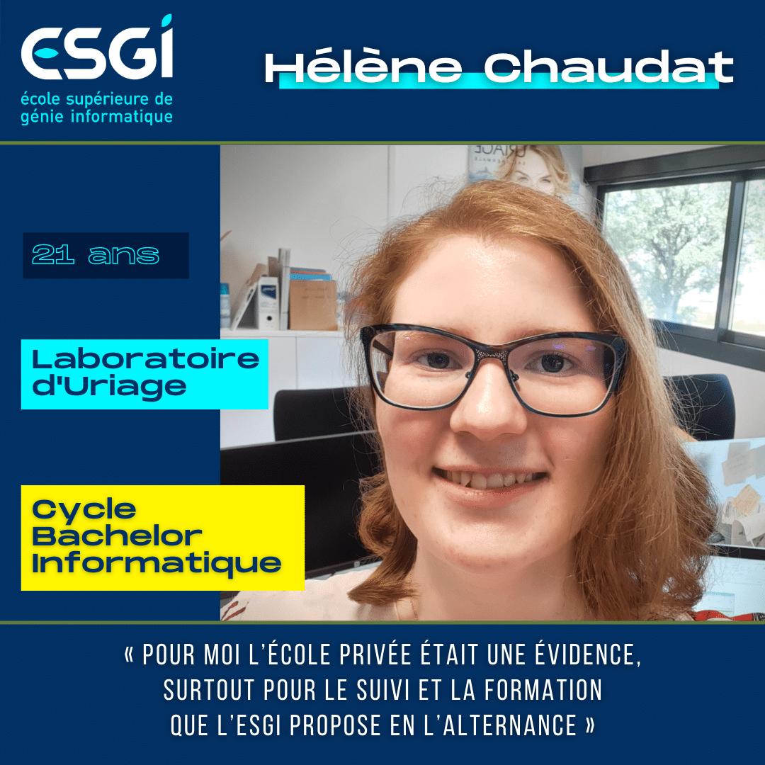 Alternance ESGI Grenoble Hélène Chaudat