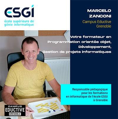Marcelo ZANCONI Responsable pédagogique