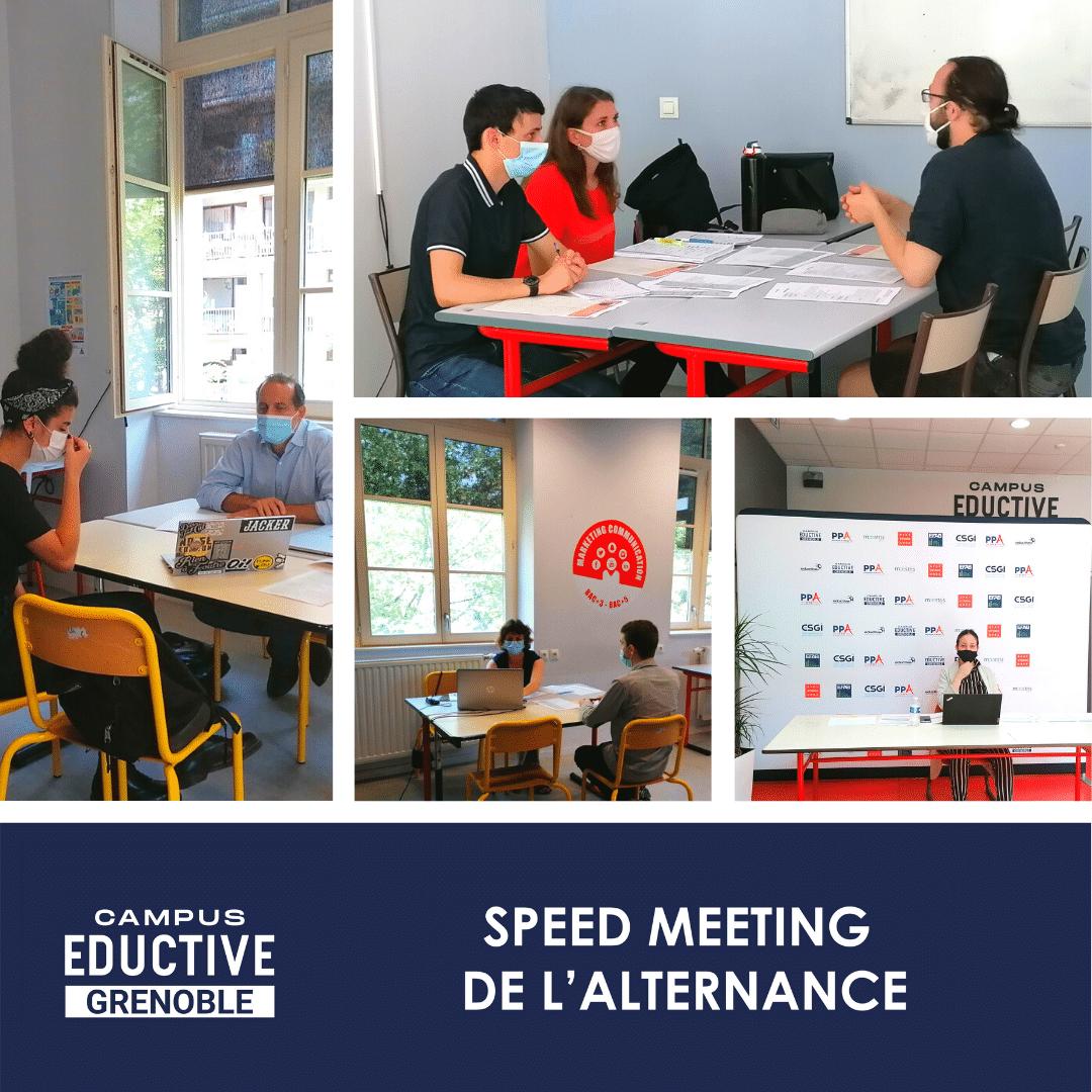 Speed meeting Grenoble